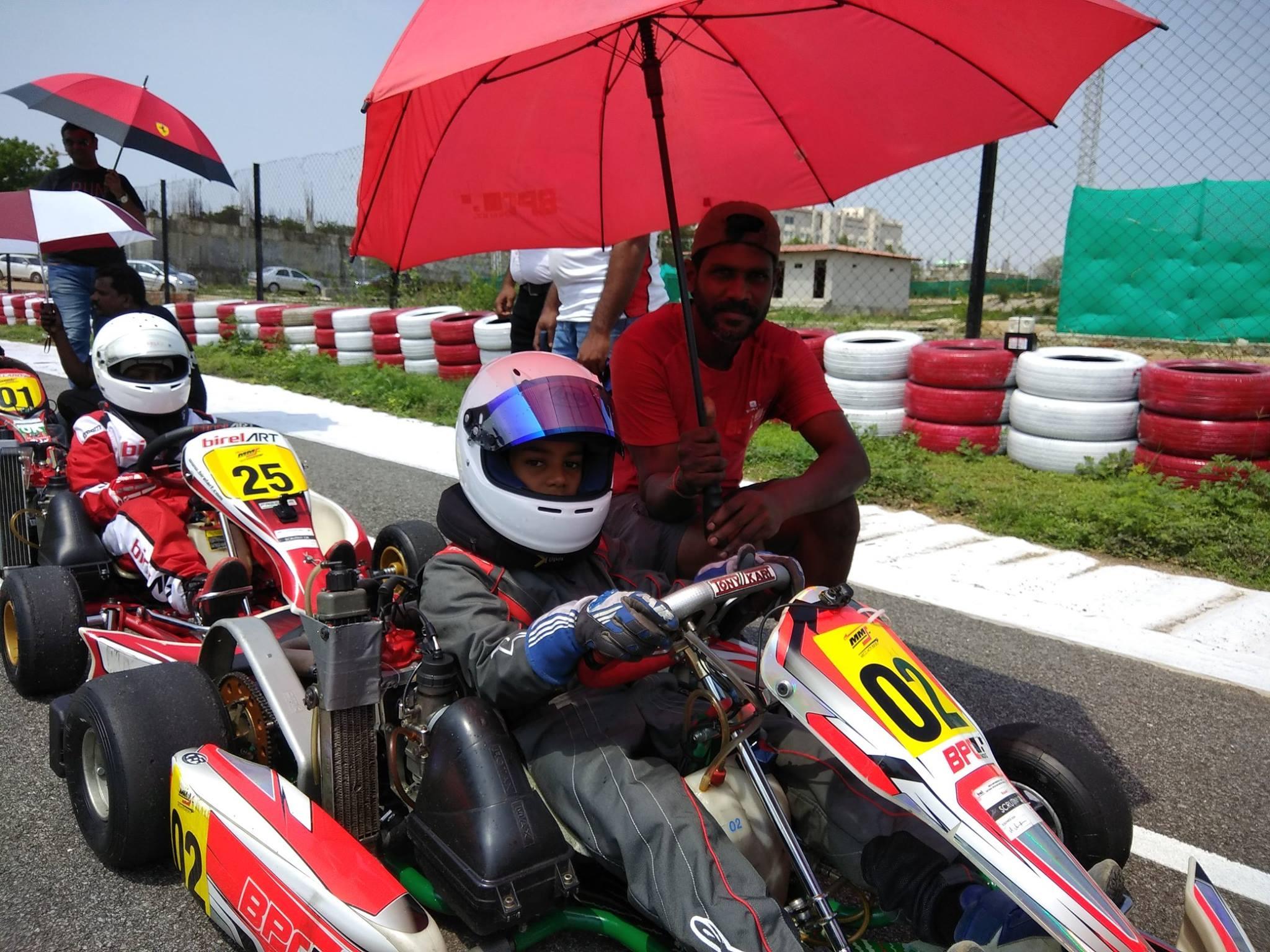Ranvir Singh - BPC Rotax Kart Racing