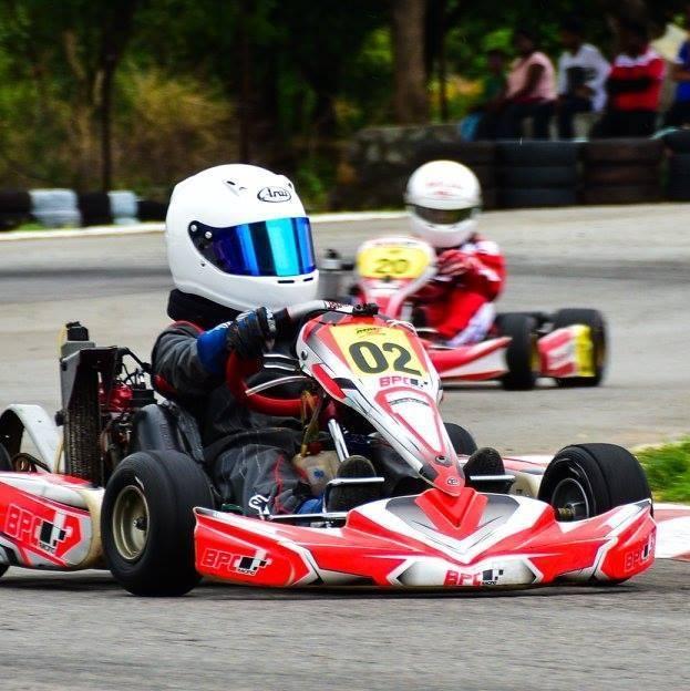 Kart Racer Ranvir Singh of Pune - BPC Rotax Racing