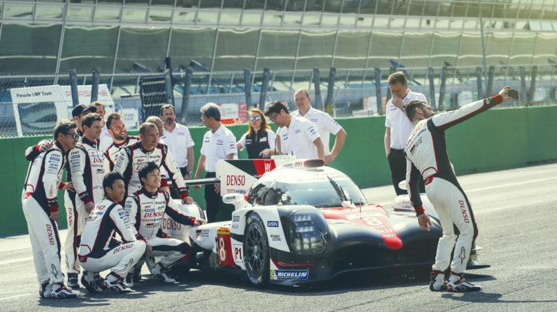 FIA WEC Toyota LMP1