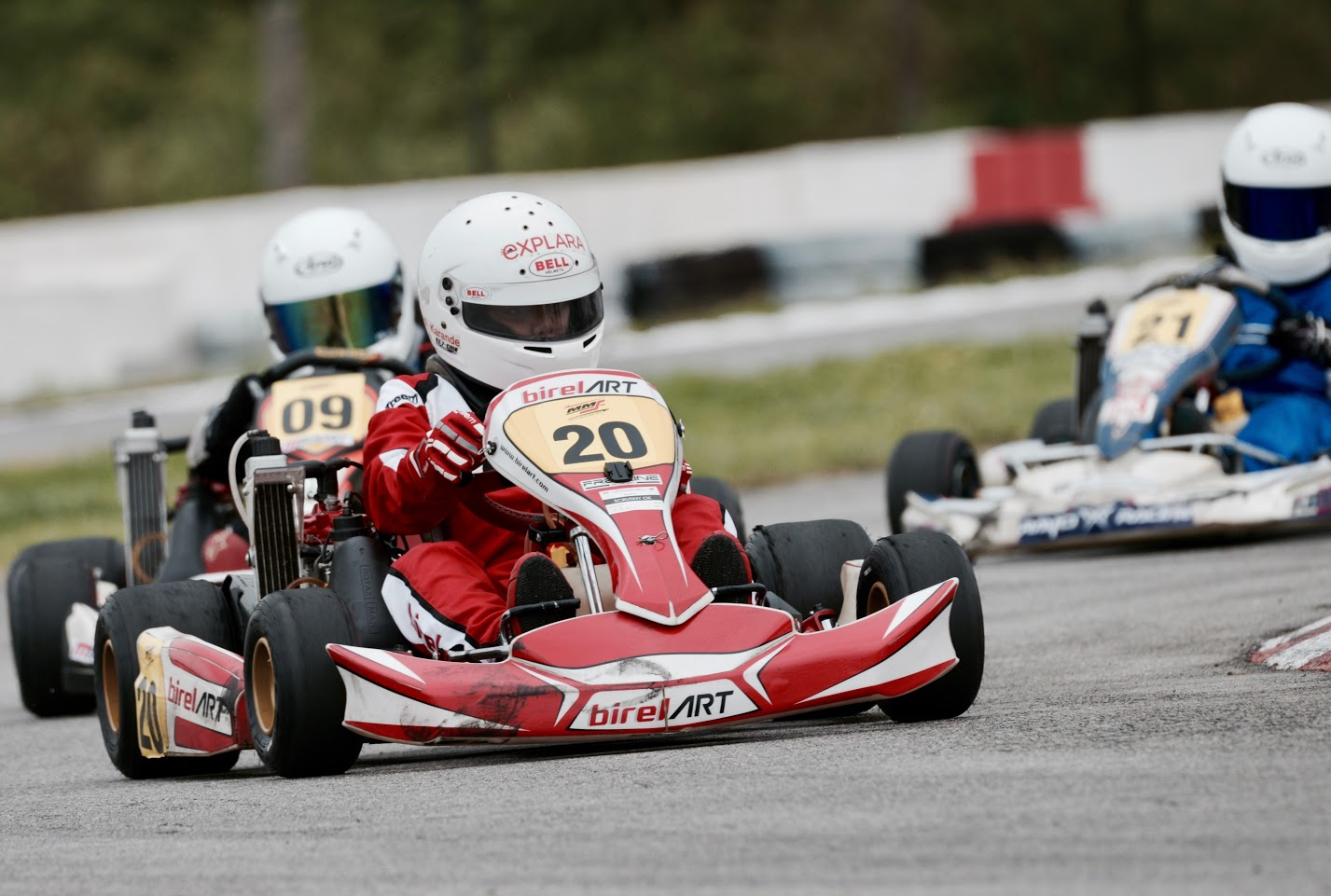 Racer Aadi Rotax Karting Birel Art