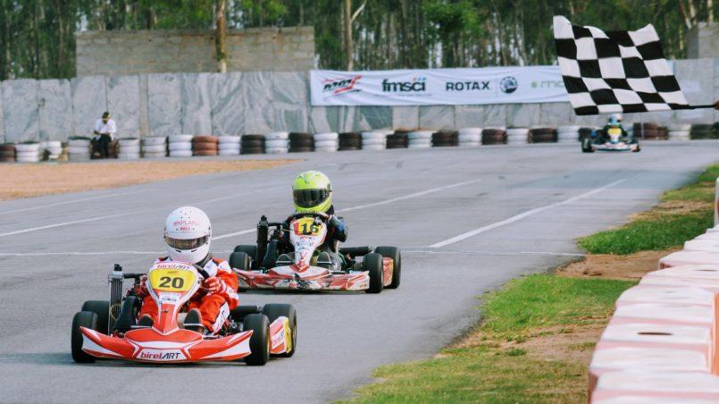 Racer Aadi Rotax Karting