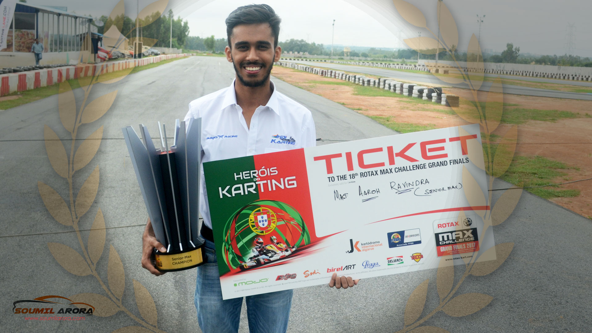 Aaroh gets a ticket to represent India at the World Rotax Finals at the Portimao circuit in Portugal