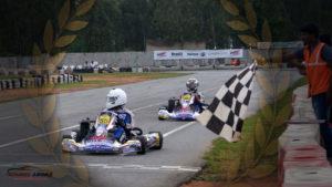 Rayo Racing teammates Aaroh Ravindra and Aanjan Patodia