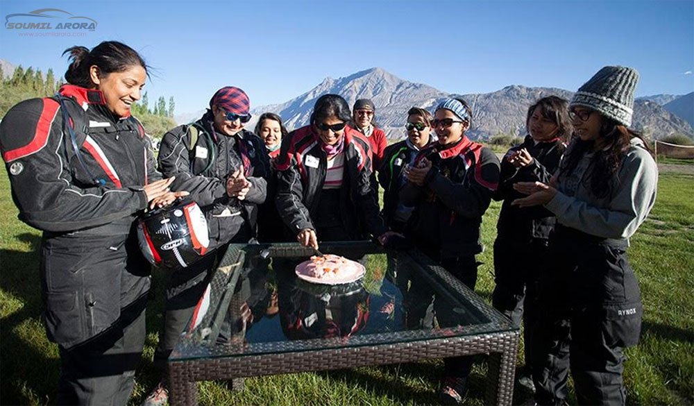 Trupti Sarmalkar celebrating her 50th birthday in the mountains!