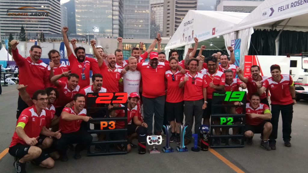 Mahindra Racing Formule-e Team - After Round 1-2 - HKT Hong Kong ePrix 2017