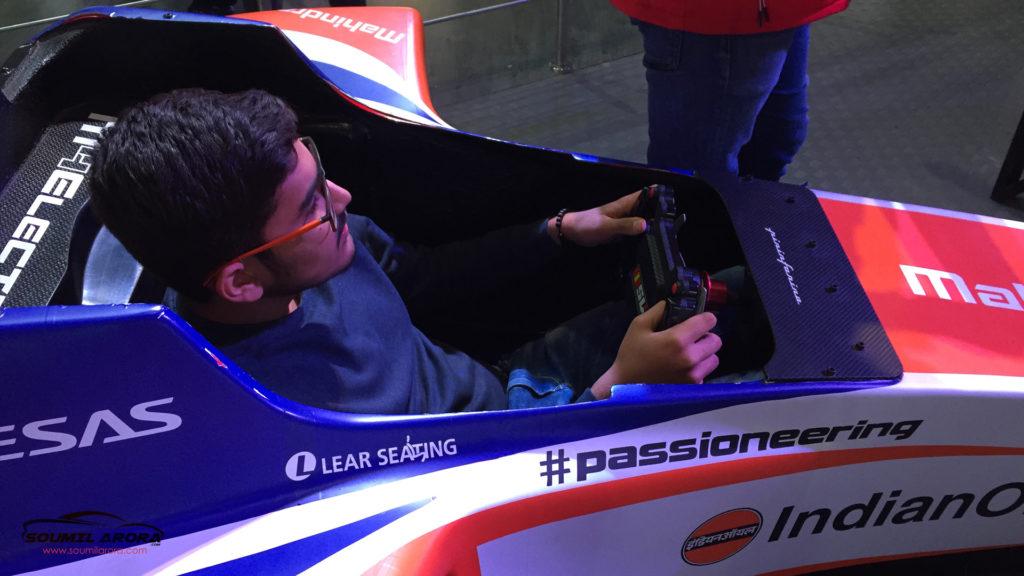 Mahindra Racing Formula-E Simulator
