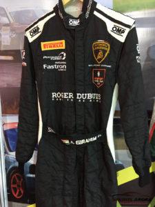 Armaan Ebrahim's Racing Suit Super Trofeo Asia 2016