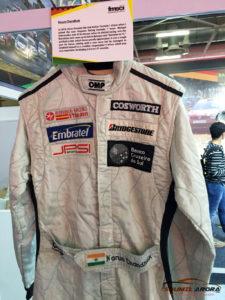 Karun Chandok's Racing Suit Hispania Racing Formula 1 Team