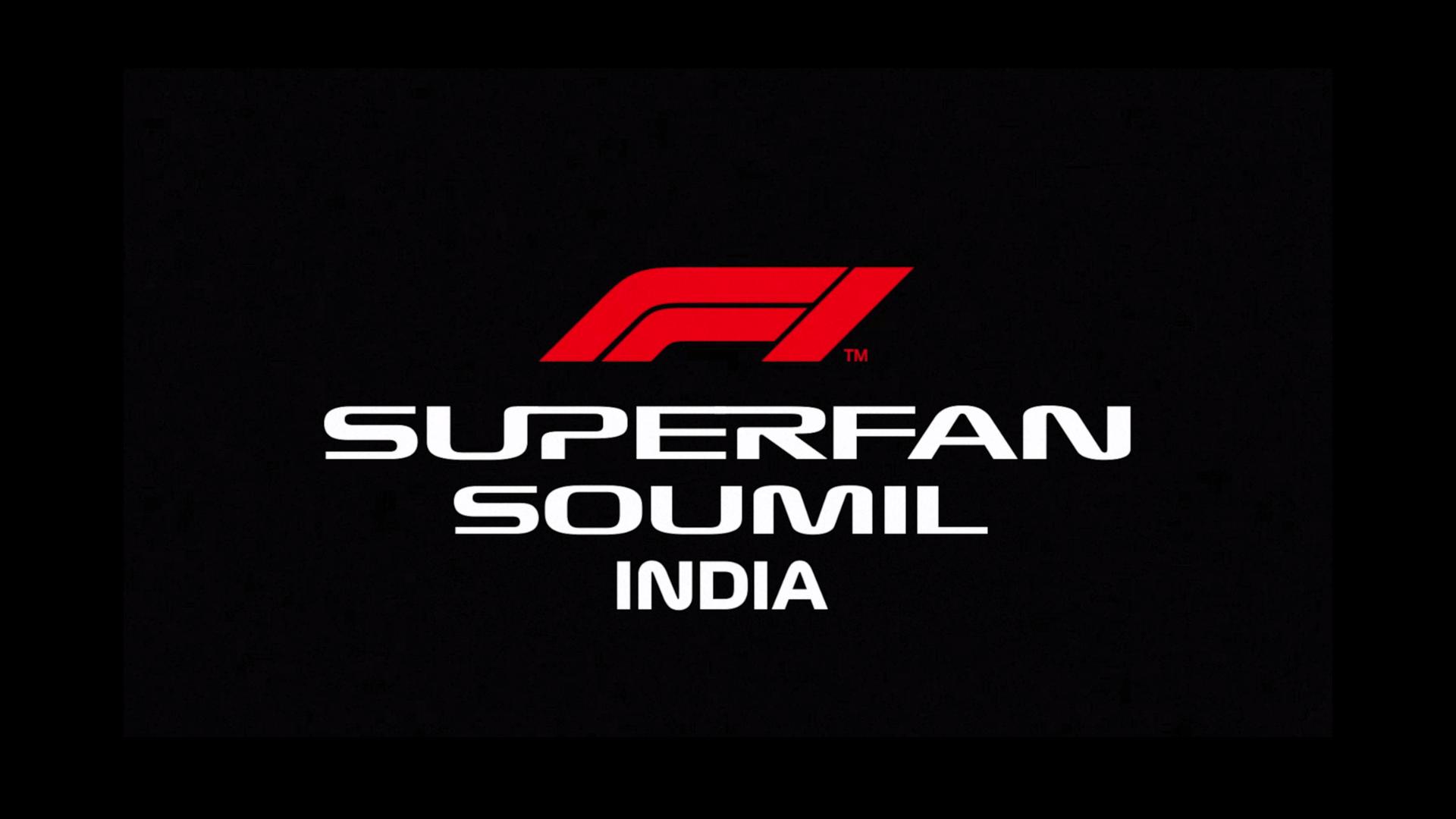 Formula 1 Engineered Insanity F1 Super Fan Soumil Arora