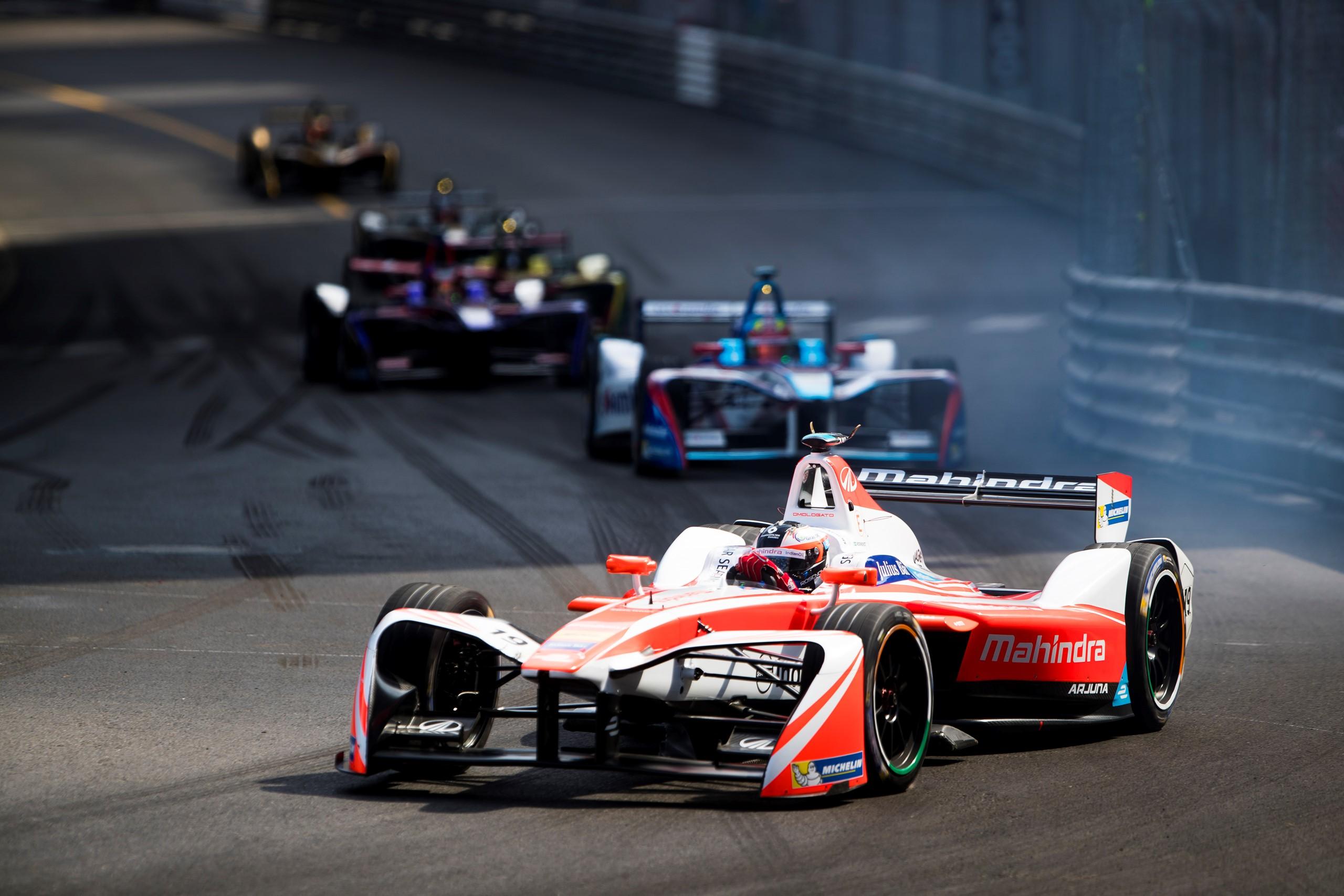 Felix Rosenqvist Mahindra Racing Monaco ePrix Formula E soumilarora.com
