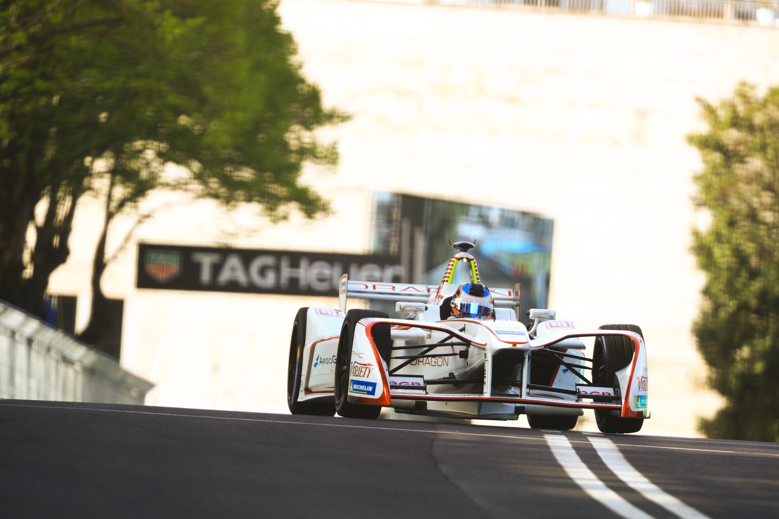 Jose Maria Lopez Dragon Racing Rome ePrix Formula E