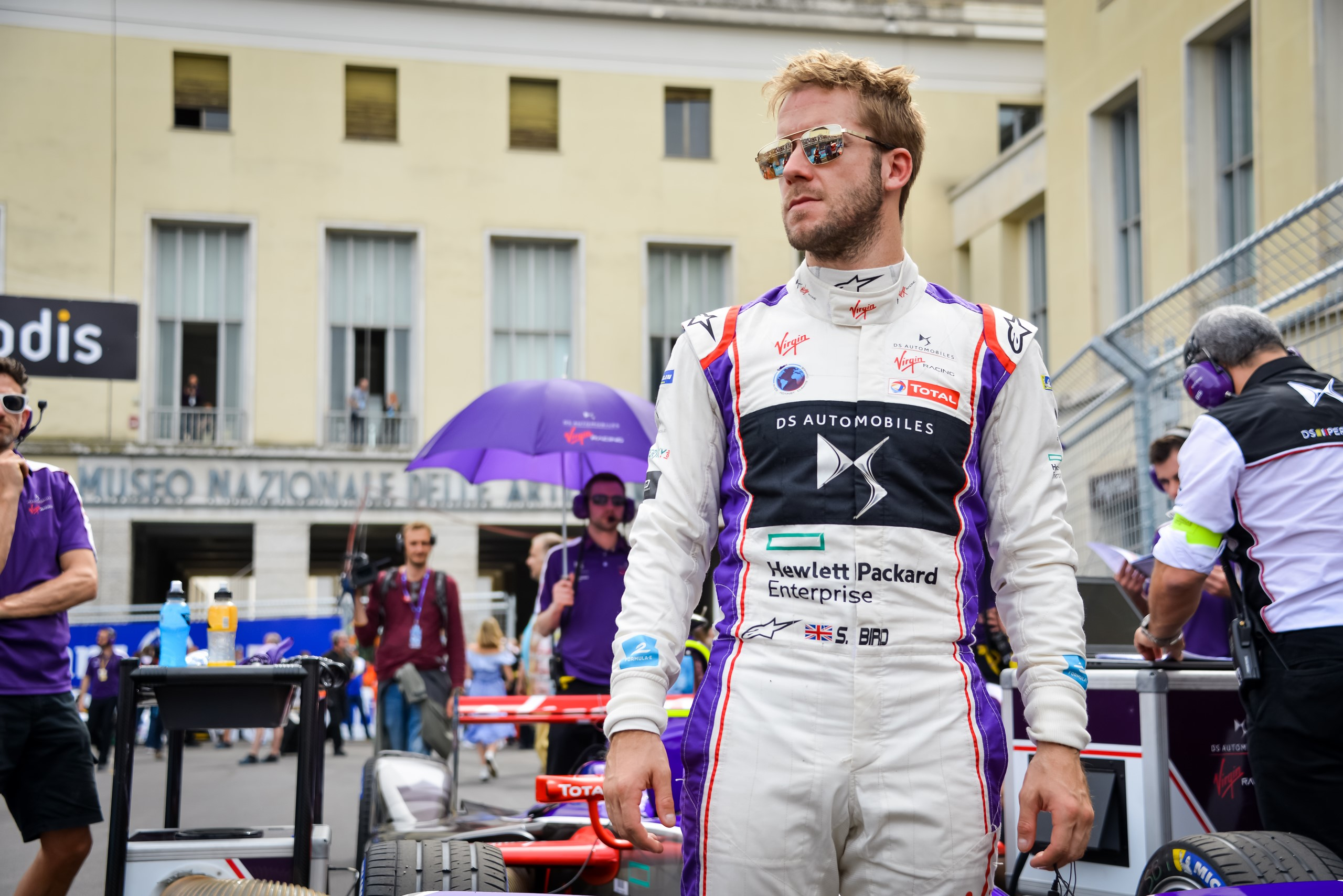Sam Bird Formula E DS Virgin Racing Rome ePrix 2018