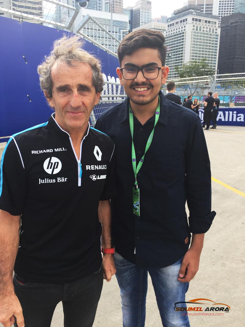 Alain Prost Soumil Arora