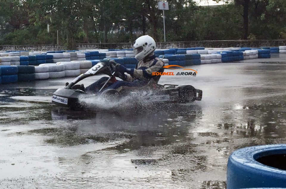 Soumil Arora Saurav Bandyopadhyay Indikarting Mumbai Karting Go Kart Mumbai