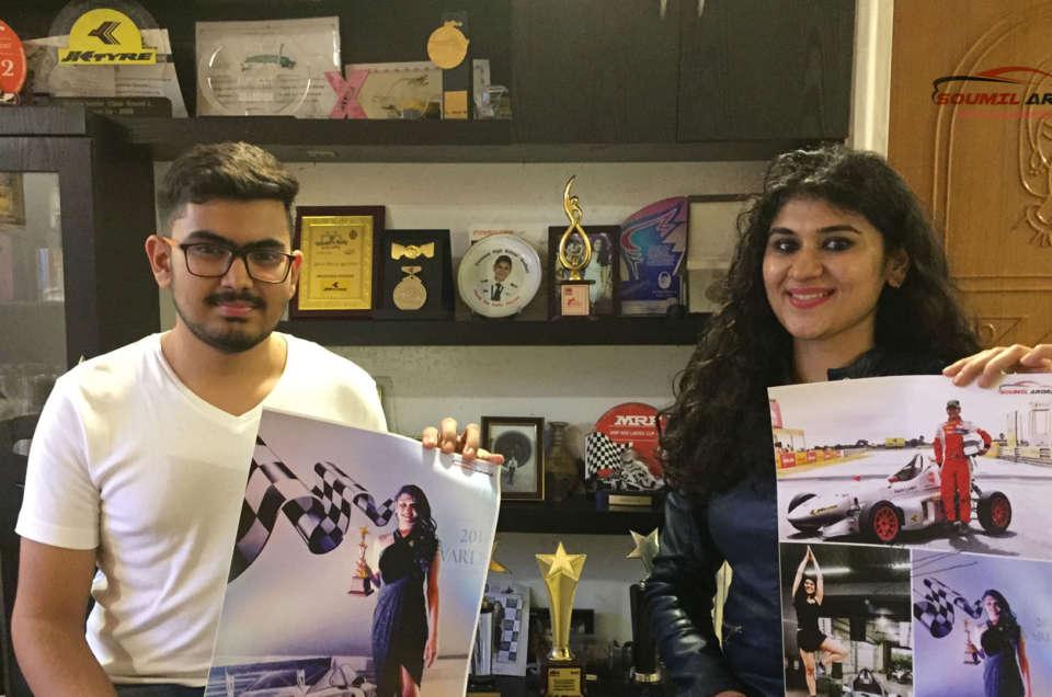 Sneha Sharma Racer Pilot Soumil Arora