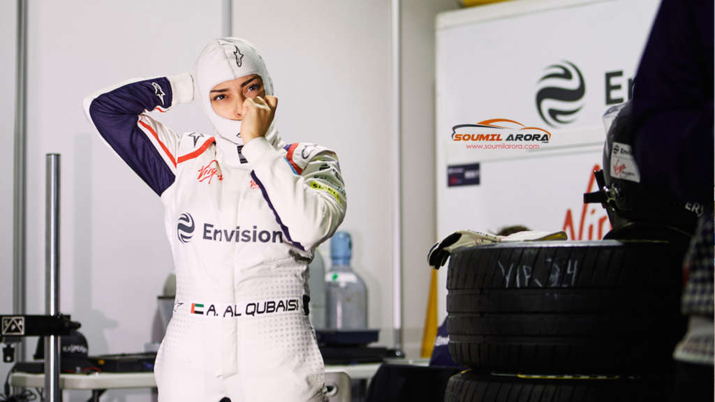 Amna Al Qubaisi - Kaspersky Lab sponsored Envision Virgin Racing Team Formula E