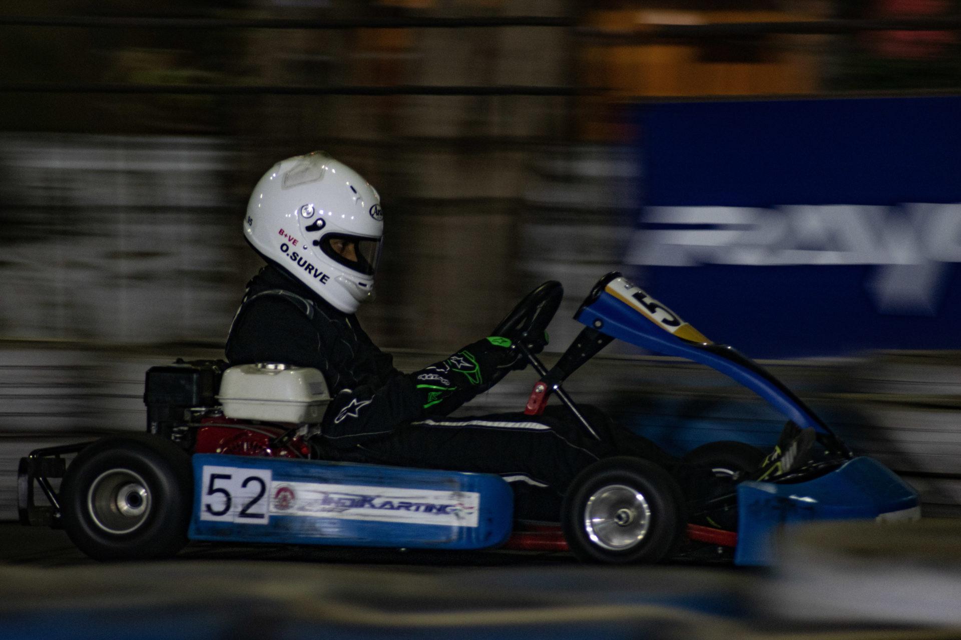 Ojas Surve Karting soumilarora.com rayo racing