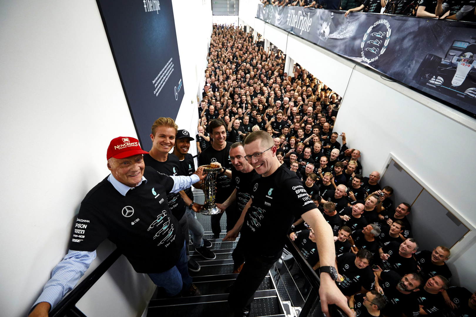 Mercedes AMG F1 Concorde Agreement Factory