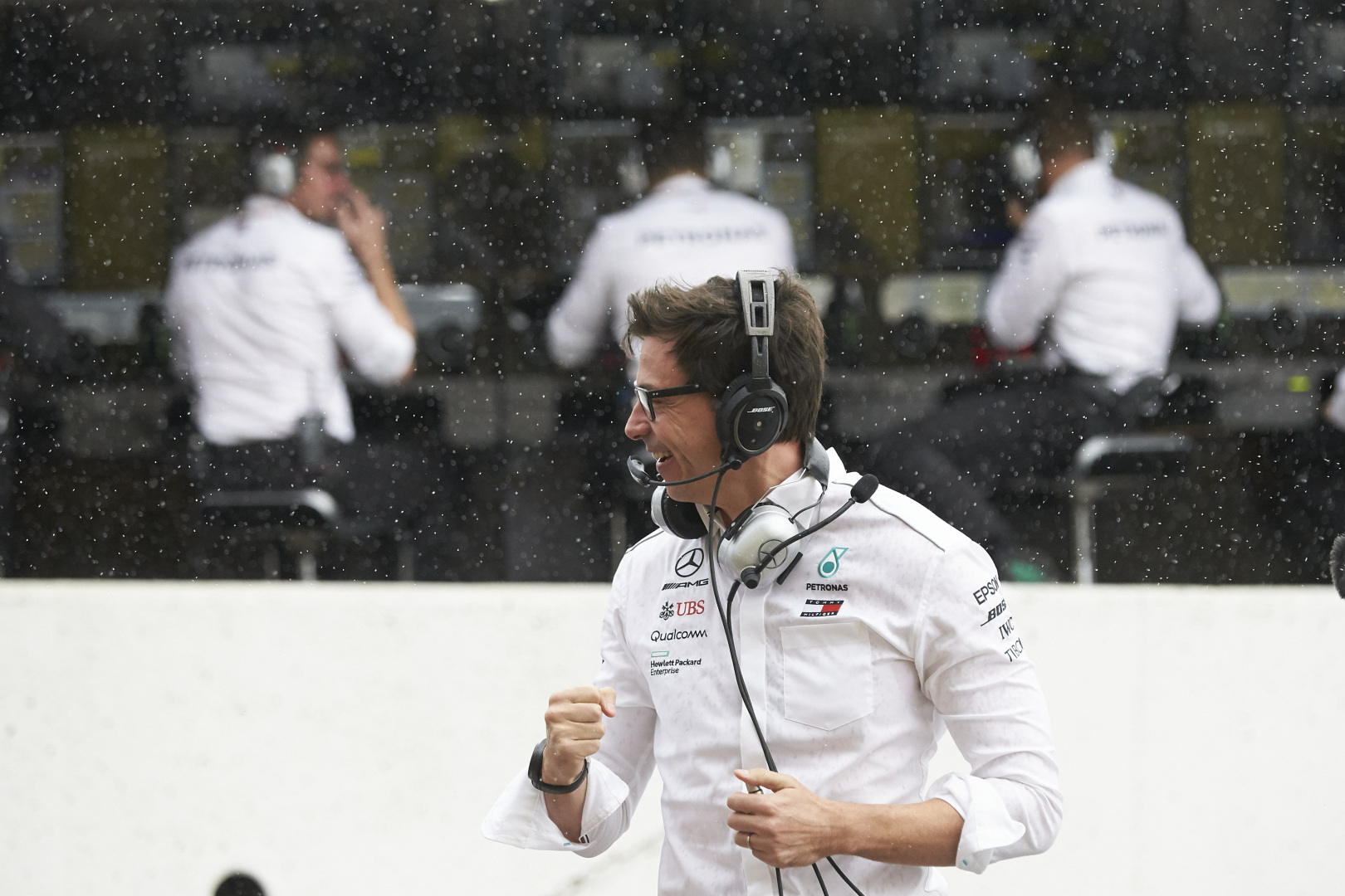 Toto Wolff Mercedes AMG F1 Management Masterclass